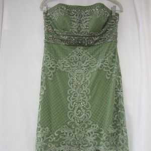 Sue Wong Nocturne 10 NWT Beaded Event Dress Fall
